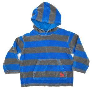 Mini Boden Towelling Hoodie Sweatshirt Boys 5-6Y